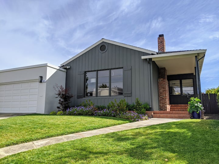 Charming Home in the Heart of Burlingame