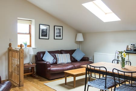 The Barn 1st Floor Rural Apartment - Charlesworth - Daire