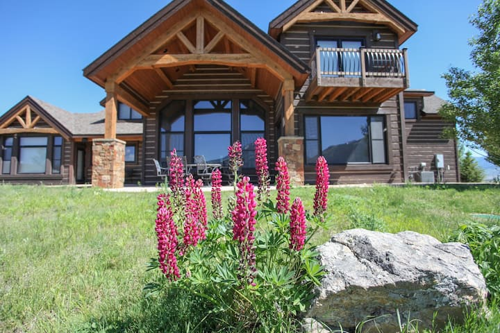 Rugged Montana Views With Amenity Rich Location And Refinement  4.5 Bedroom, 4.5 Bathroom