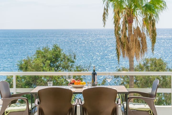SES ROQUES DE CALA BONA - Apartment with sea views in Cala Millor.