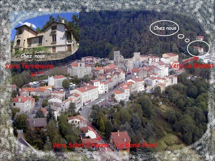 Gîte near St Etienne
