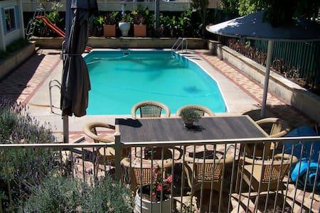 A Private Modern Poolside Studio