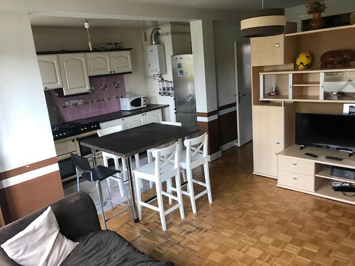 Appartement 4 pièces, 3 couchages - Sceaux (92)