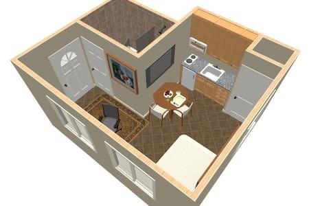 Modern Compact Studio Suite - 伊薩卡 - 公寓