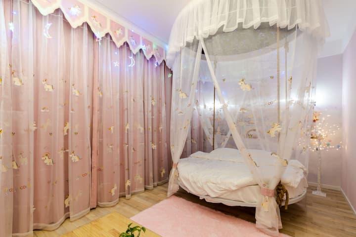 粉色梦境公主房