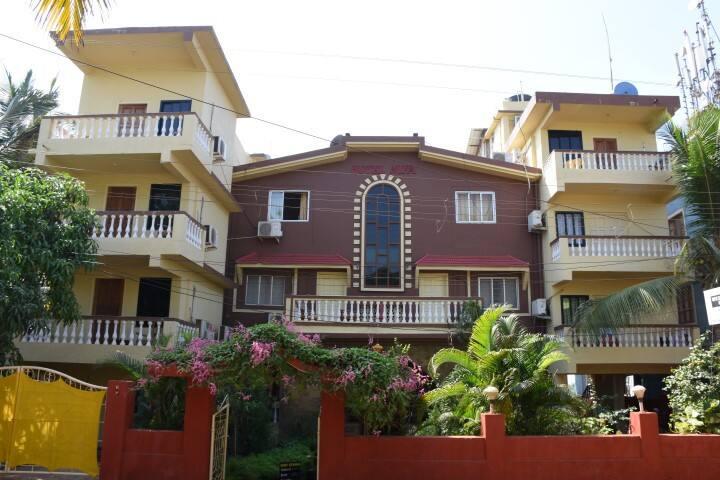 Air Conditioned Room at Hotel Nifa, Morjim Goa