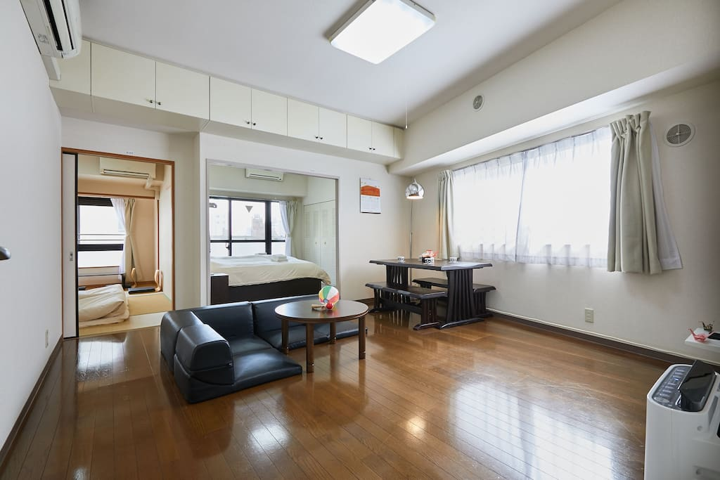 Large and spacious rooms