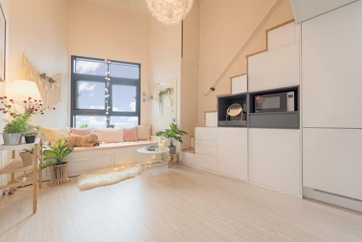 ★2min★from hongik.uni.stn★ Newly-Built Duplex
