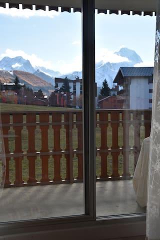Le balcon pour profiter du soleil !