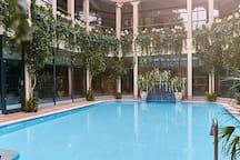 Centre Parcs aqua sauna. Pre book a day at the spa. Open to non CP guests.