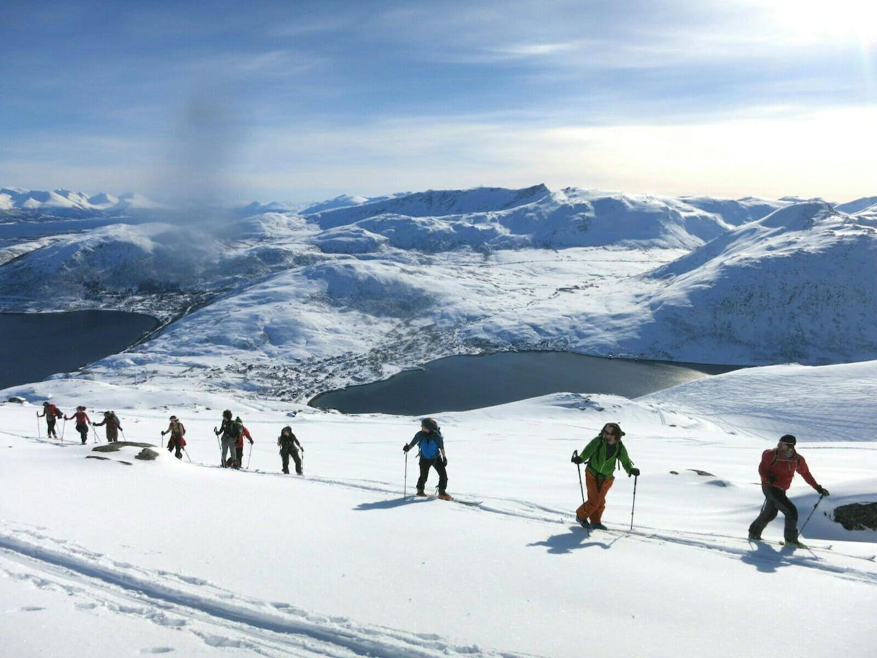 Buren Skiing or hiking trails