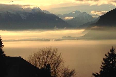Chardonne, vue incroyable sur lac et montagnes - Chardonne