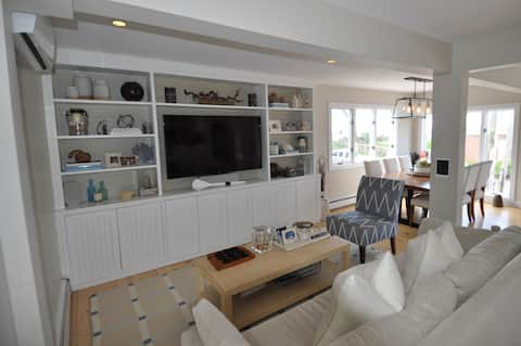Beautiful Westport home steps from the beach!