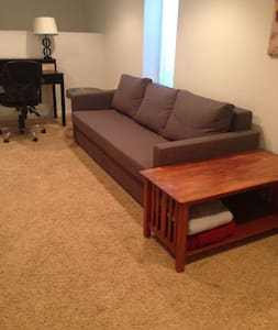 Bright, peaceful garden unit - Edgewater - Apartment