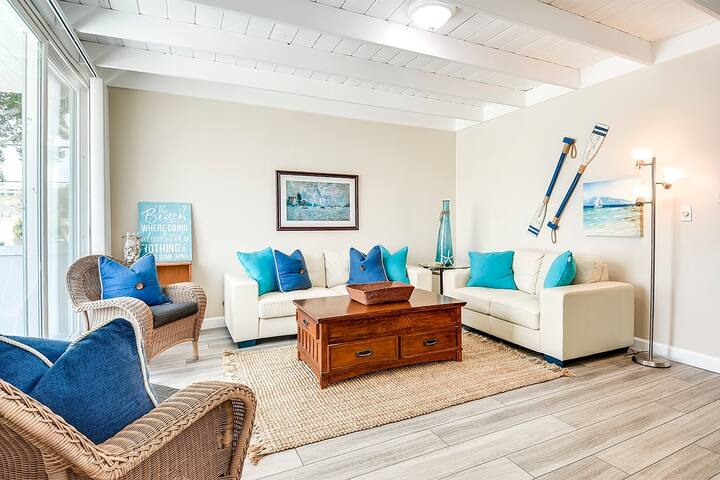 46th St - 2 Bedroom Apt 1 block from the beach!