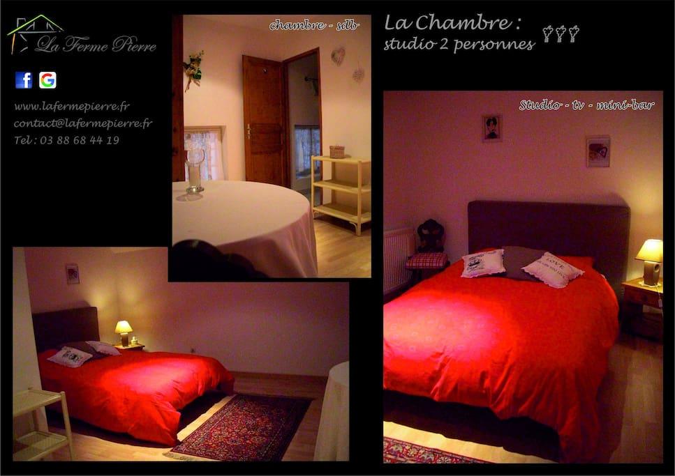 Chambre d 39 h tes sdb maison d 39 h tes louer donnenheim for Chambre d hote champagne ardennes