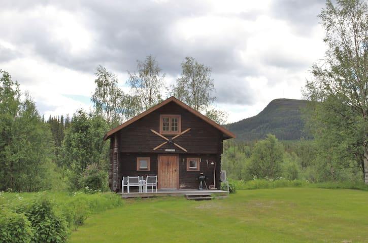 Härbret, timbered cottage