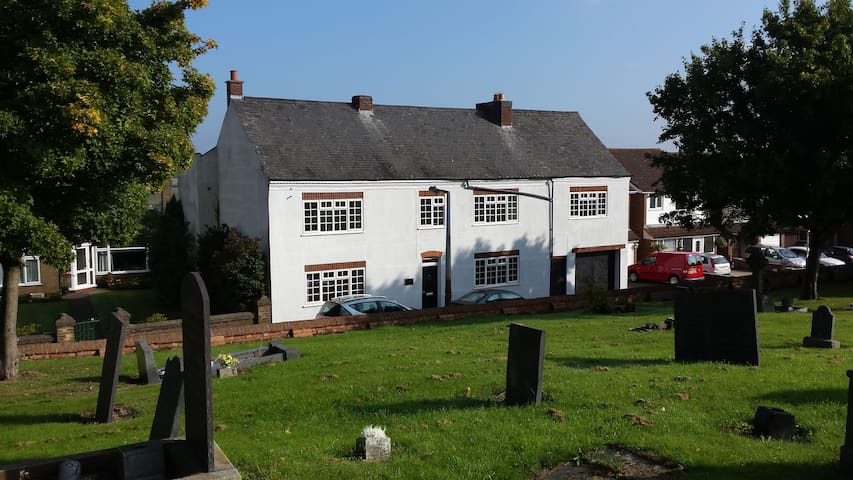 Ted's Homestead, Period property stunning views - Earl Shilton - Bed & Breakfast