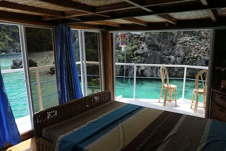 JuniorSuite.The onlyAccom.inCoronIsland. Houseboat