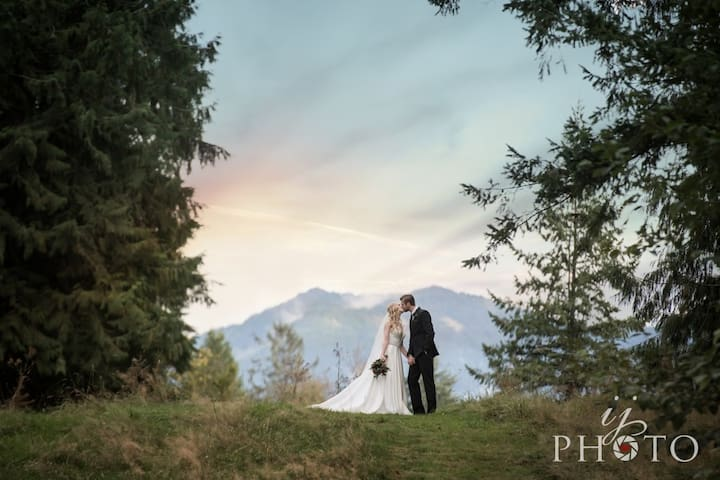 All Moon River Suites + Evergreen Meadows Wedding