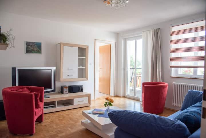 Ferienwohnungen Richard Wurz, (Reichenau), Wohnung 2, 66qm, Balkon, 1 Schlafzimmer, max. 4 Personen