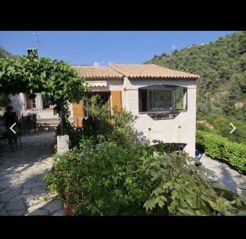 Nice house moutain sea Nice Monaco