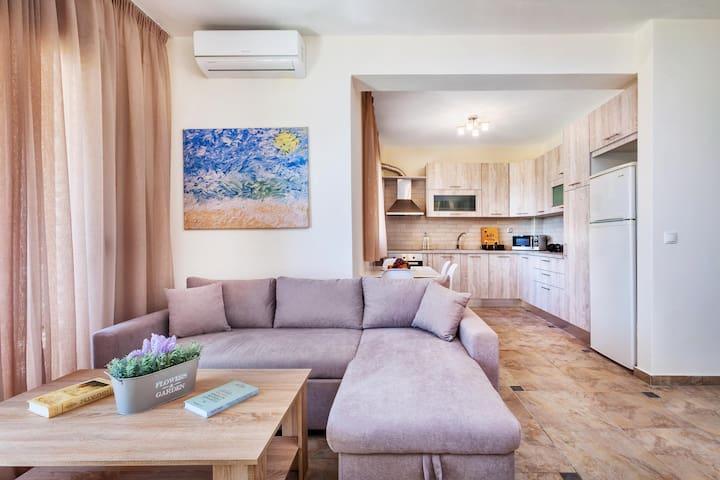 Deluxe 4 Bedroom Villa Sea View | Sunset Villas