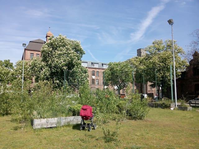 Geräumige Wohnung im Wohnprojekt - Mannheim - Apartment