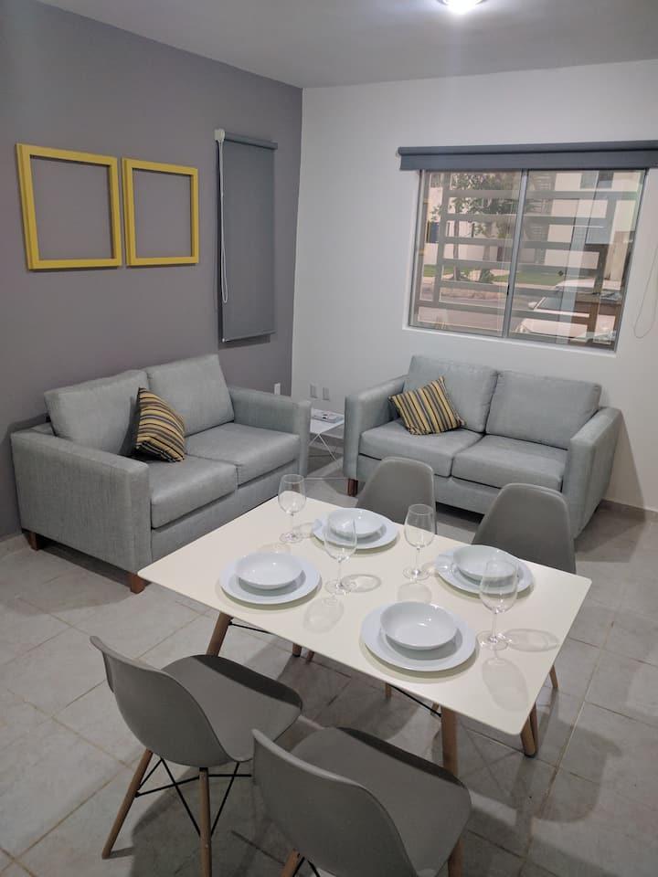 Brand New Apartment in Puerto Morelos