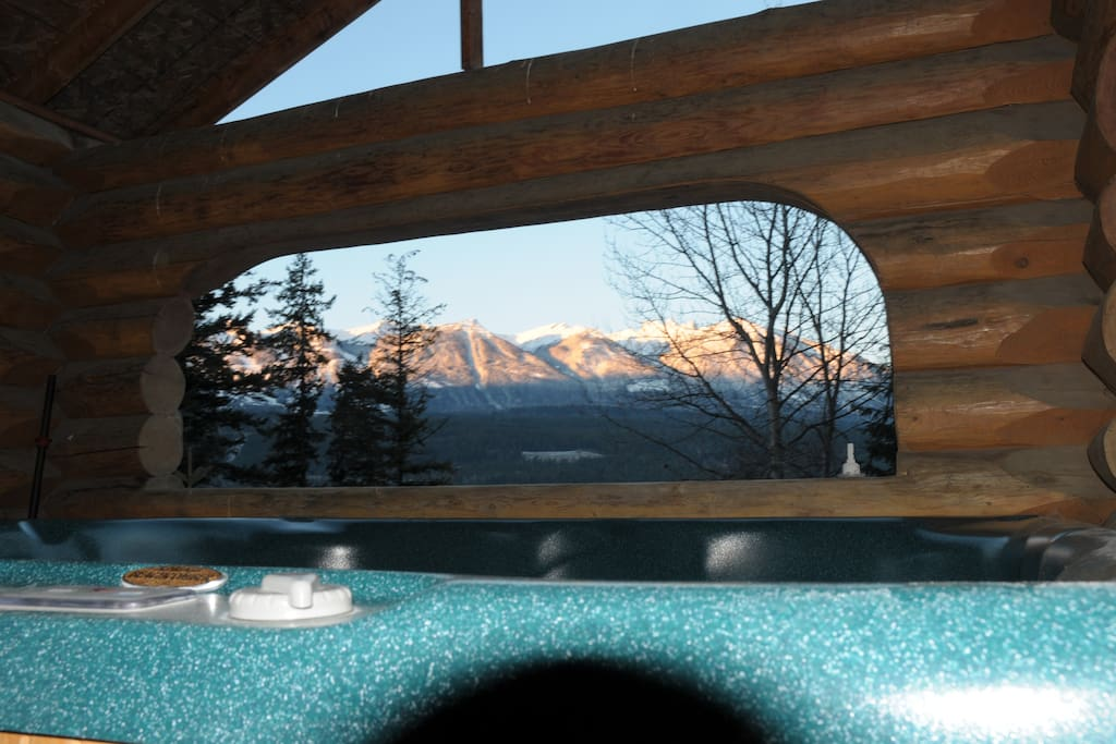 The view in the hottub