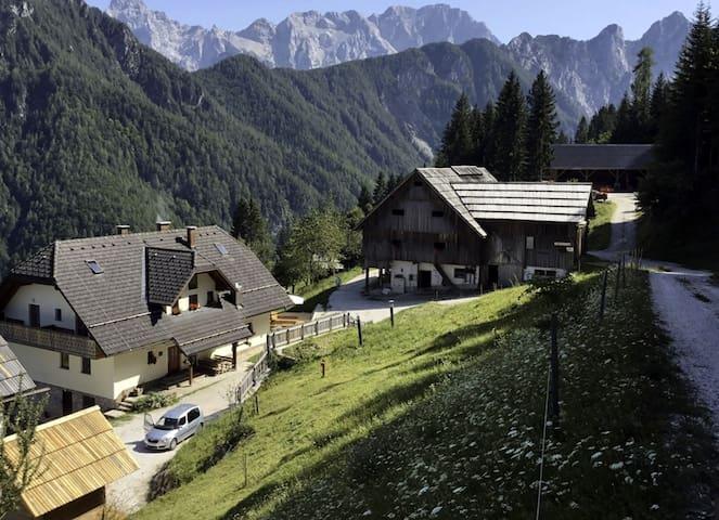 Room for 2 in Solčava