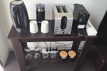 Appliance corner - enjoy your Nespresso