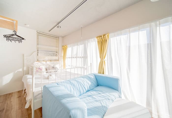 R501 Cozy Apt at Ebisu for 2, Free Wifi!