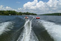 Tubing on the Trent!