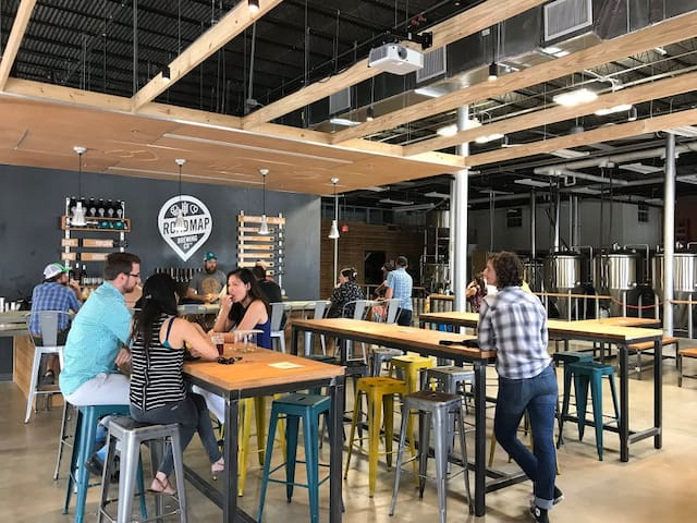 Walk right over to Road Map Brewing