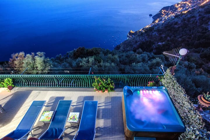 1.Apartment with Breathtaking View & Jacuzzi - Furore - Talo