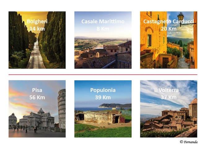 Destinazioni vicine - Nearby destinations