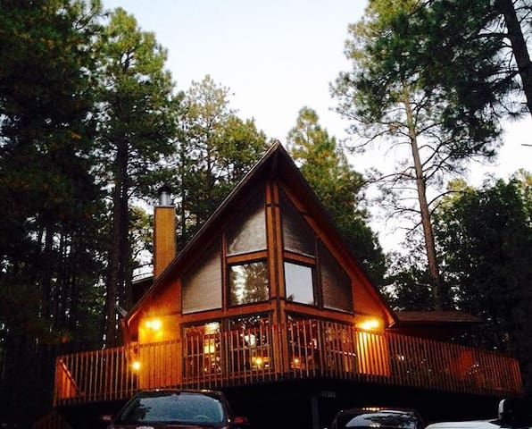 Big Woods Cabin - Munds Park - Casa