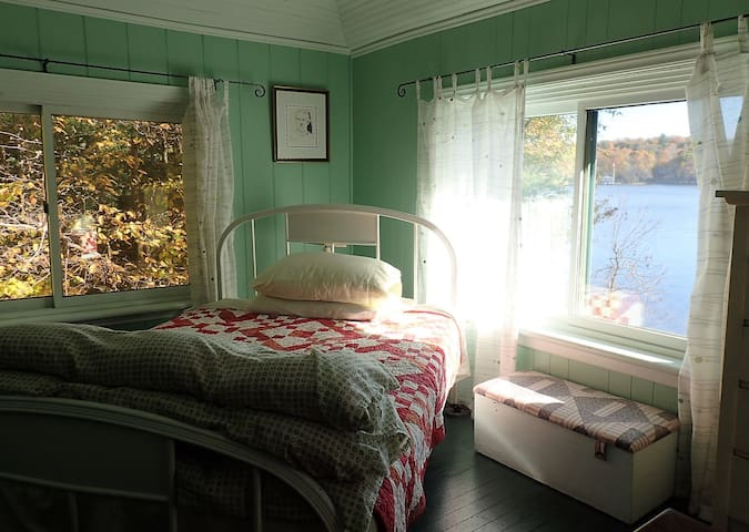 The Green Room.  Perfect for those who like to read in bed before starting the day.