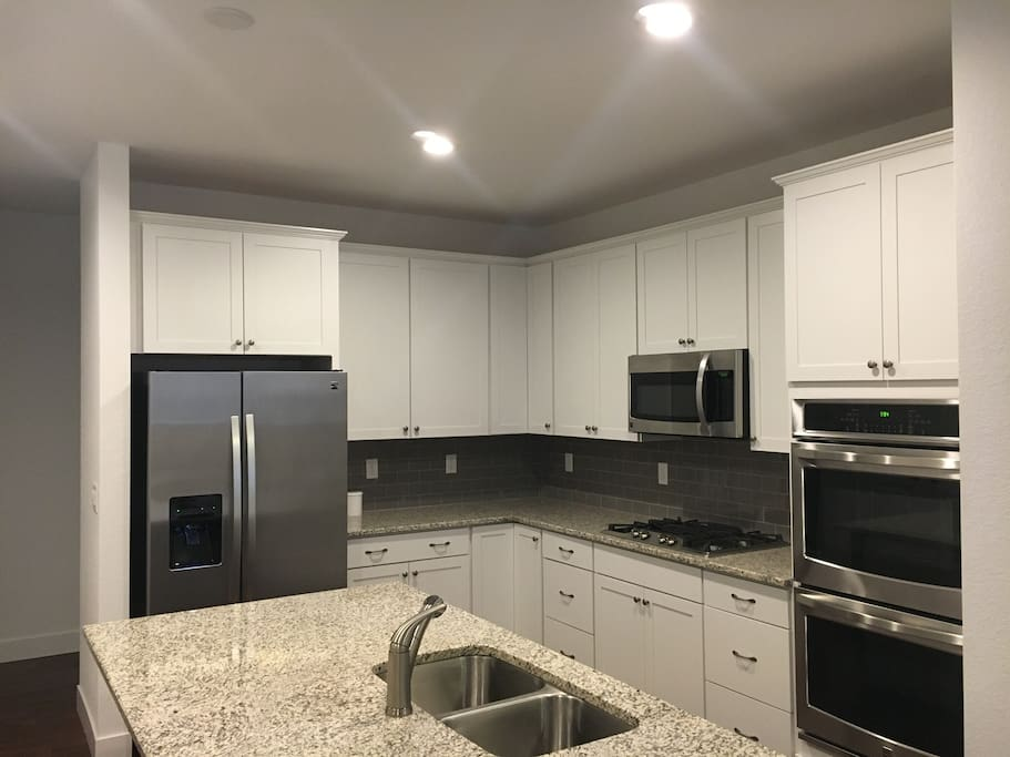 Kitchen is shared space.