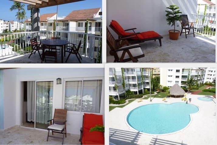 Playa turqueza desirable penthouse condo - Punta Cana - Apartamento
