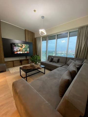 1+1 balcony Deluxe Apart. - near Mall of Istanbul