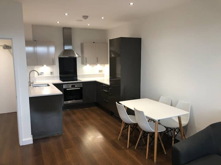 Amazing/new one bedroom apartment in docklands.