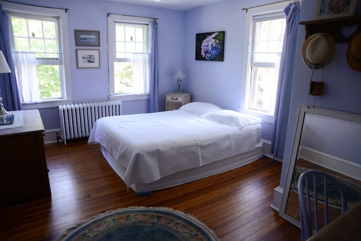 Haddonfield Quiet & Charming Blue Room