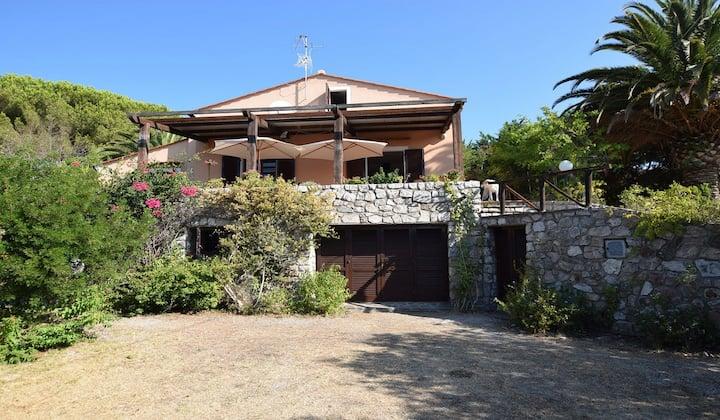Villa Fiorella, Marina di Campo con vista mare