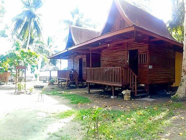 Log Cabin @Frisco Beach Park,Caramay Roxas Palawan