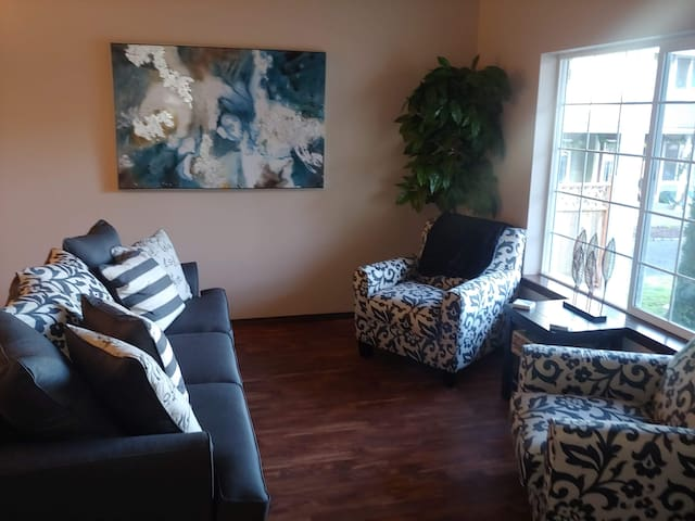 Sitting area off of the Dining Room
