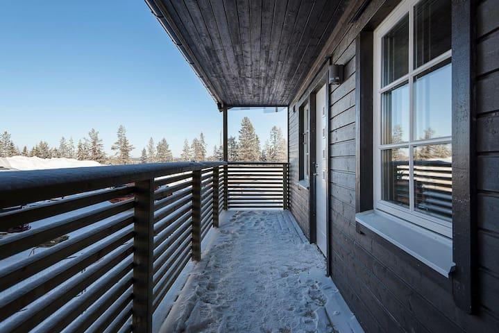 New Build Apartment in Sälen with Great Location