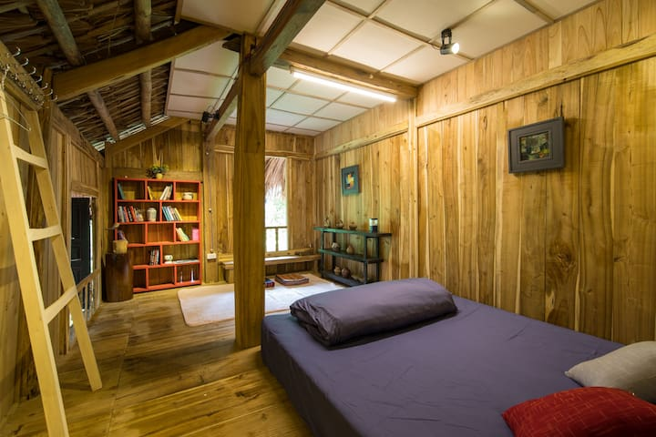 Your room with soft bed