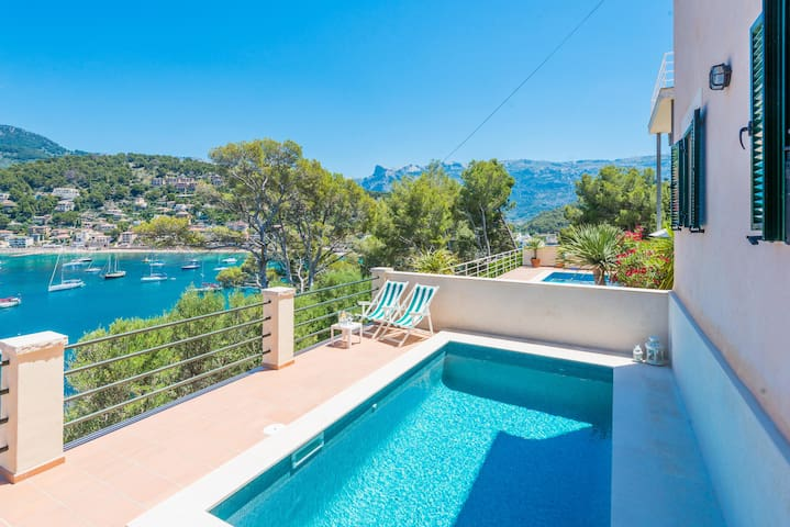 CAN BIRI - Villa for 10 people in Port de Sóller.